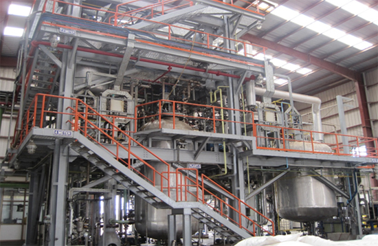 Turnkey Solution For Chemical Manufacturing Plant